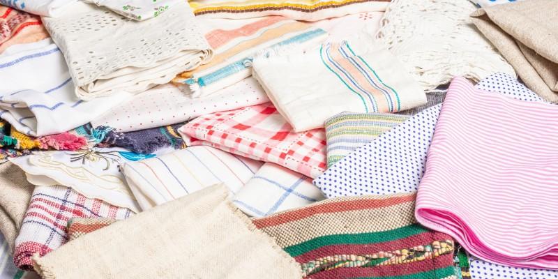 Stofftaschentücher waschen und pflegen