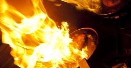 Brennendes Öl löschen