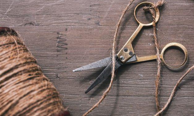 Tricks zum stumpfe Schere schärfen