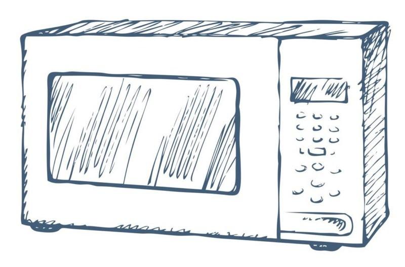 Mikrowelle putzen & reinigen