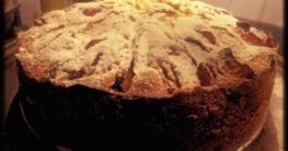 Omas einfacher Pflaumen-Apfel-Kuchen