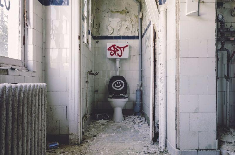 Gestank in stinkende Toilette & WC entfernen