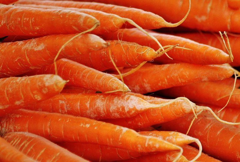 Möhren & Karottenflecken entfernen