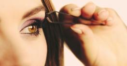Augenbrauen zupfen & schöner Augenbrauenbogen