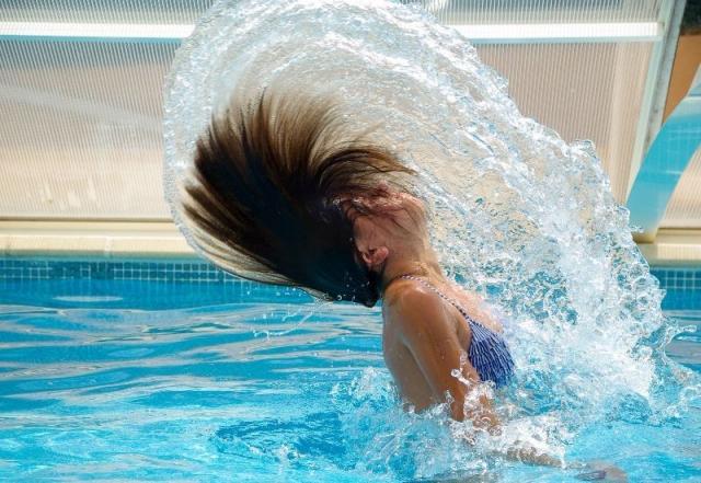 Mit baby ins schwimmbad wie duschen