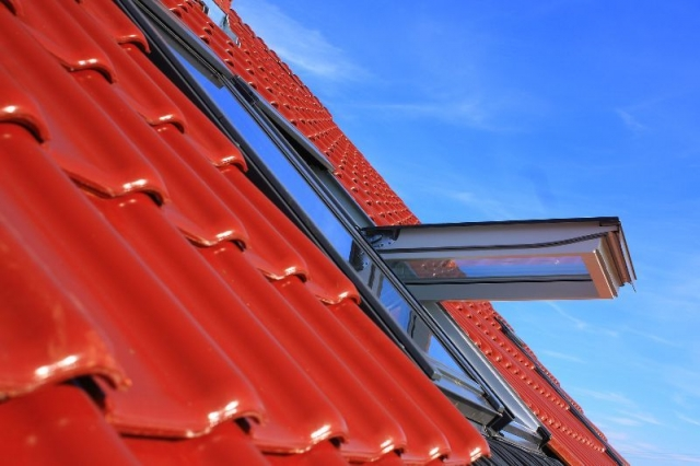 dachfenster putzen außen