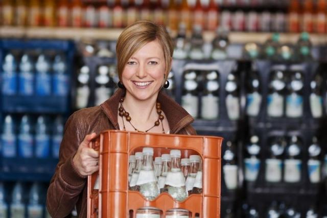 Schwerer Getränke Einkauf vermeiden