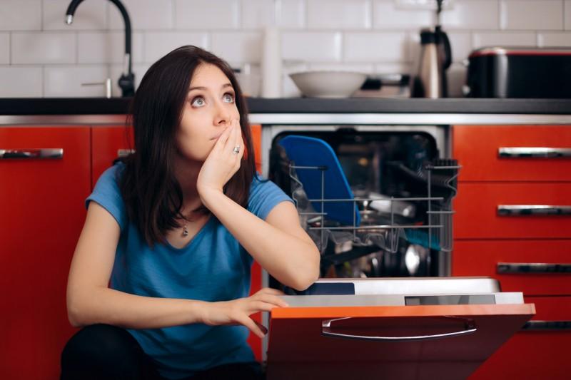 Regelmäßig Spülmaschine reinigen und pflegen