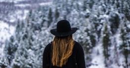 Haare pflegen im Winter