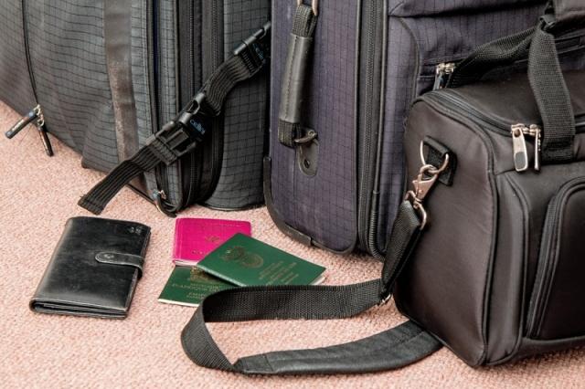 Koffer packen und Urlaubsvorbereitung