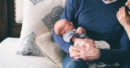 Zwergensprache zwischen Baby und Eltern