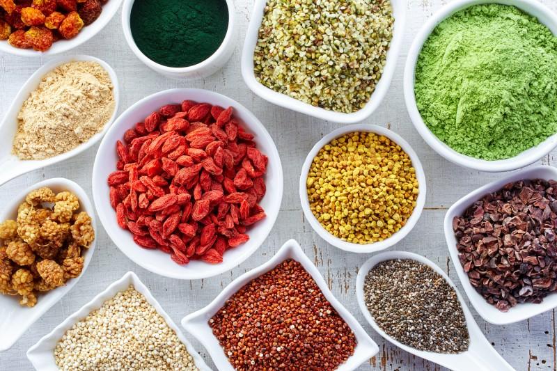 10 Superfood Lebensmittel mit Eigenschaften und Vorteile